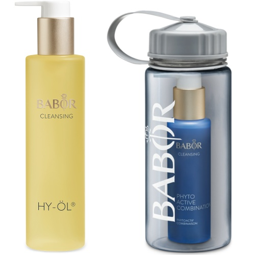 Cleansing Set Combination mit Trinkflasche