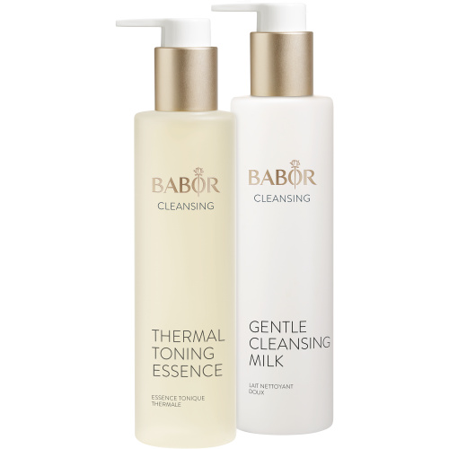 Gentle Cleansing Milk und Thermal Toning Essence