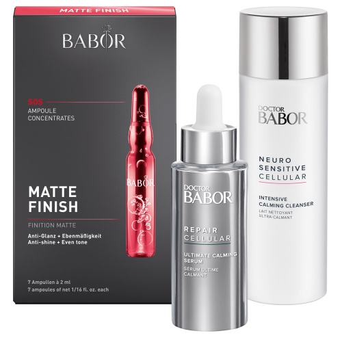BABOR CARE SET Matte Finish