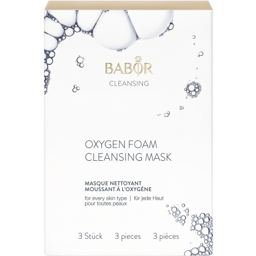Oxygen Foam Cleansing Mask